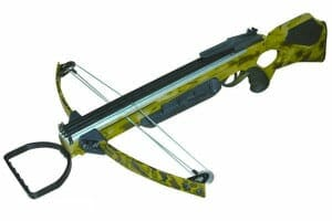 a picture of a crossbow with a white backgroudn