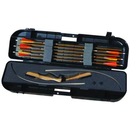 The bow case she choose as the best bow case for beginners were the vista traveller. its a overall great bow, even for travel, but we dont think it can beat the skb.