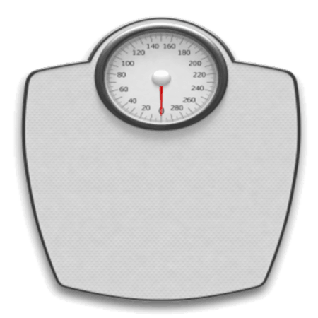 Showing a scale representing the importance of the weight of your bow case.