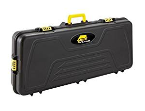 the plano case is a great a durable case. Its totally black besides the details are yellow. This is the case we highly recommend for beginners.