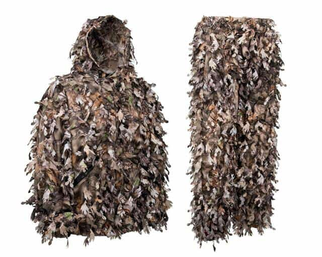 Nourth mountain leafy hunting suit
