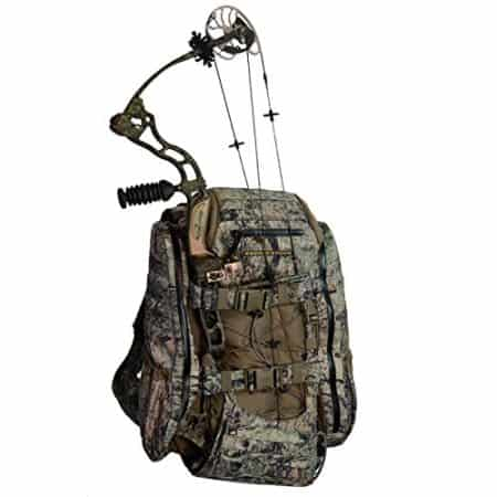 archery backpack with quiver