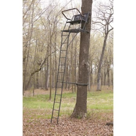 Best ladder stand reviewed in the woods